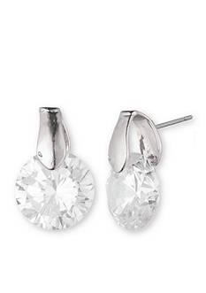 Anne Klein Cubic Zirconia Drop Earrings