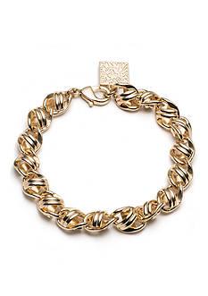 Anne Klein Gold-Tone Flex Bracelet