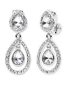 Anne Klein Silver-Tone Earring
