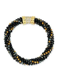 Anne Klein Gold-Tone Jet Bracelet