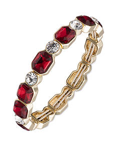 Anne Klein Gold-Tone Siam Stretch Bracelet