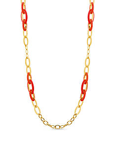 Anne Klein Gold-Tone Link Necklace