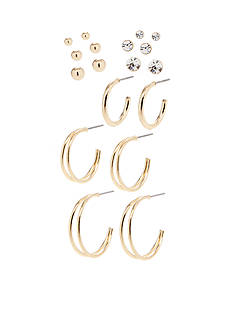 Red Camel Six Pair Earring Set