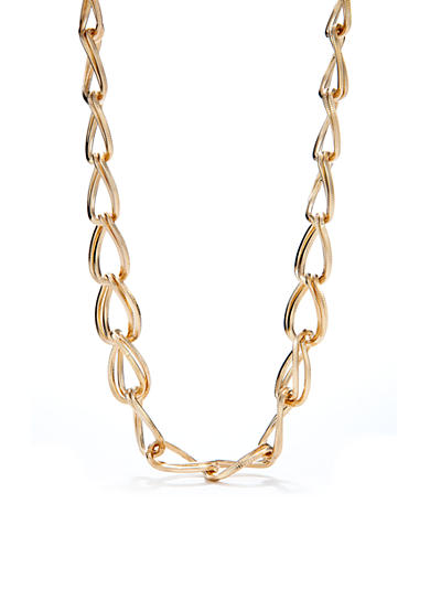 Kim Rogers® Gold-Plated Double Oval Necklace