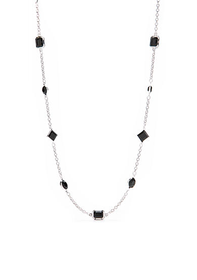 Kim Rogers® 36-in. Channel Necklace with Jet Stones