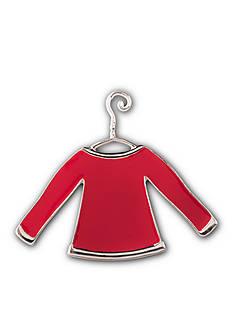 Kim Rogers Silver-Tone DIY Sweater Pin