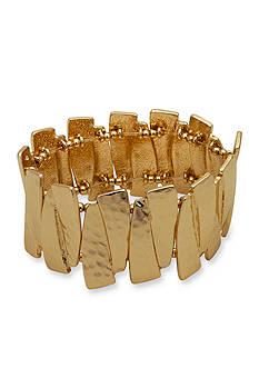 Kim Rogers Gold-Tone Stretch Bracelet