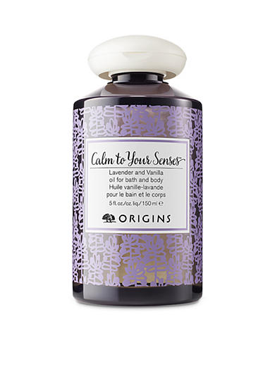 Origins Calm to Your Senses Lavender and Vanilla Bath and Body Oil
