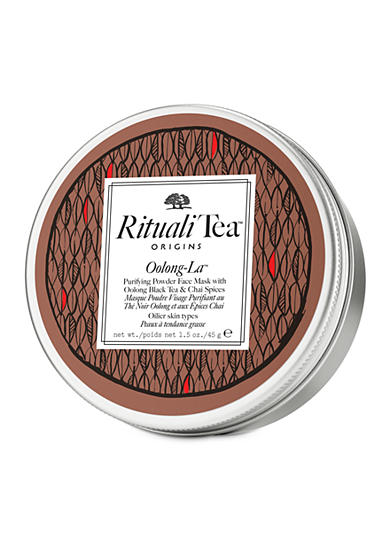 Origins RitualiTea™ Feeling Rosy™ Comforting powder face mask body mask with Rooibos Tea & Rose