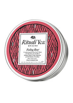 Origins RitualiTea™Feeling Rosy™ Comforting powder face mask body mask with Rooibos Tea & Rose