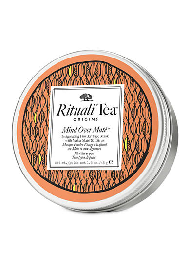 Origins RitualiTea™ Mind Over Mate™Invigorating powder face mask with Yerba Maté & Citrus