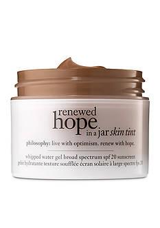 philosophy renewed hope in a jar skin tint SPF 20
