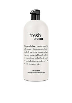 philosophy fresh cream body lotion
