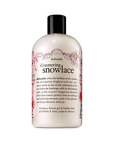 philosophy shimmering snowlace shower gel