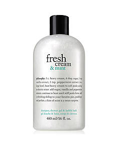 philosophy fresh cream & mint shower gel