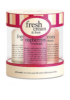 philosophy fresh cream and fruit gift set