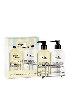 philosophy fresh cream hand care set