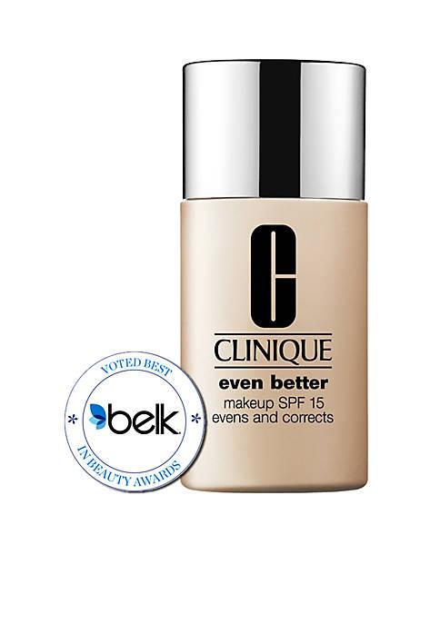 clinique even better makeup spf 15 belk. Black Bedroom Furniture Sets. Home Design Ideas