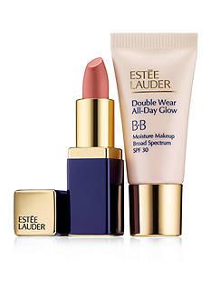 Estée Lauder All Day Glow + Sculpted Lips: Start small. Your perfect size to try.
