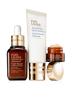 Estée Lauder The Nighttime Experts Includes a Full-Size Advanced Night Repair Serum