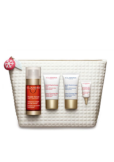 Clarins Double Serum & Extra-Firming Essentials 4-Pc. Set