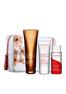 Clarins DIY Tan Way to Glow!