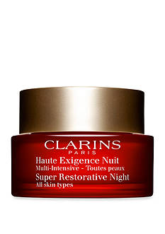 Clarins Super Restorative Night Age Spot Correcting Replenishing Cream, All Skin Types