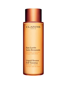 Clarins Liquid Bronze Self Tanning for Face and Decollete