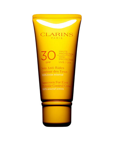 Clarins Sunscreen for Eyes Wrinkle Control Cream SPF 30