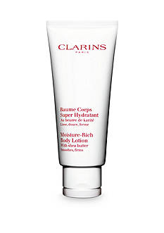 Clarins Moisture-Rich Body Lotion with Shea Butter