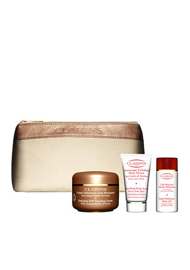 Clarins Delicious Self Tanning Gift Set