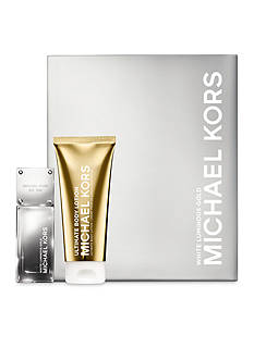 Michael Kors White Luminous Gold Gift Set