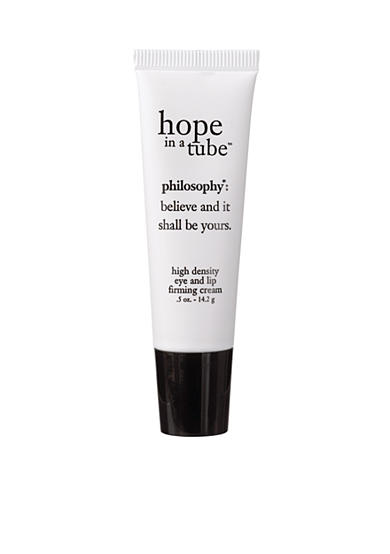 philosophy hope in a tube eye and lip contour cream tube