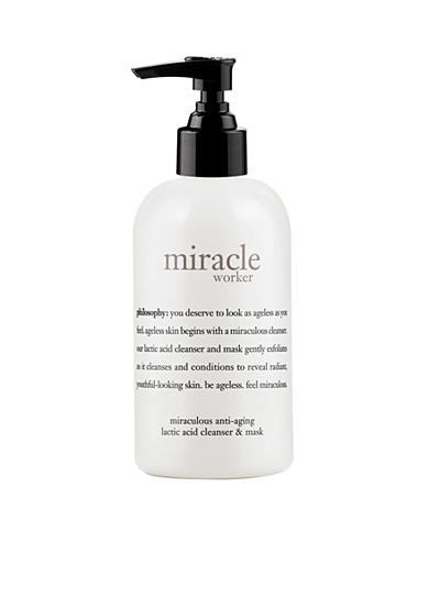 philosophy miracle worker lactic acid cleanser