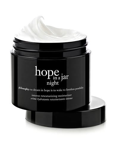 philosophy hope in a jar night intensive retexturizing moisturizer