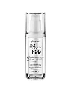 philosophy no reason to hide multi-imperfection transforming serum <br>