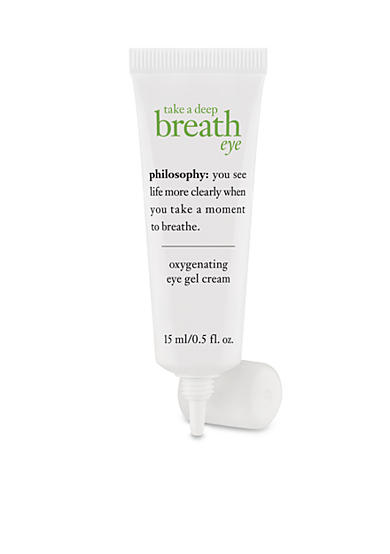 philosophy take a deep breath oil-free oxygen-infused eye gel cream