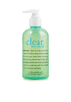 philosophy clear days ahead acne treatment cleanser