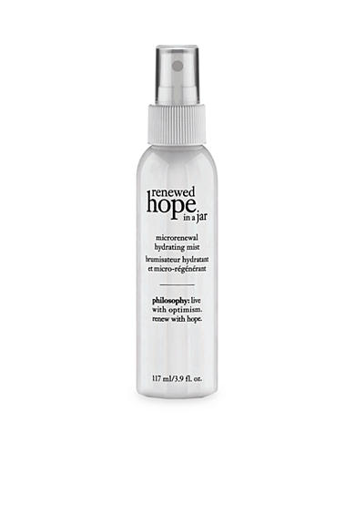 philosophy renewed hope in jar micro-renewal hydrating mist