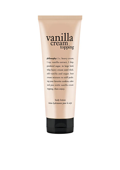 philosophy whipped vanilla topping lotion