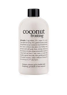 philosophy coconut frosting shower gel