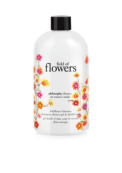 philosophy field of flowers wildflower blossom shower gel