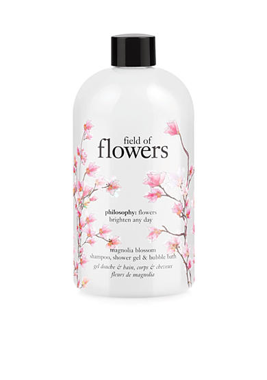 philosophy field of flowers magnolia blossom shower gel