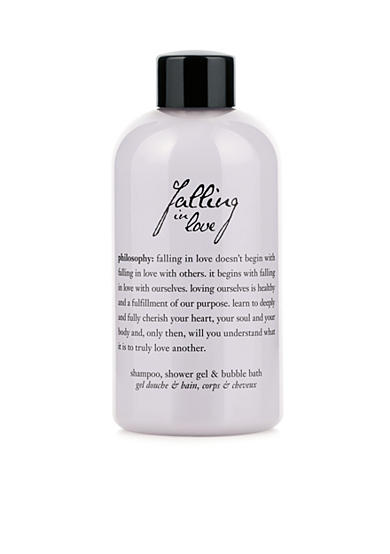 philosophy falling in love summer shampoo, shower gel, & bubble bath