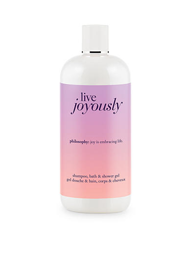 philosophy live joyously shampoo, bath & shower gel