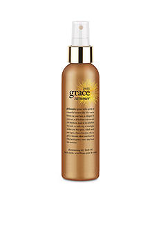 philosophy pure grace summer body shimmering oil spray