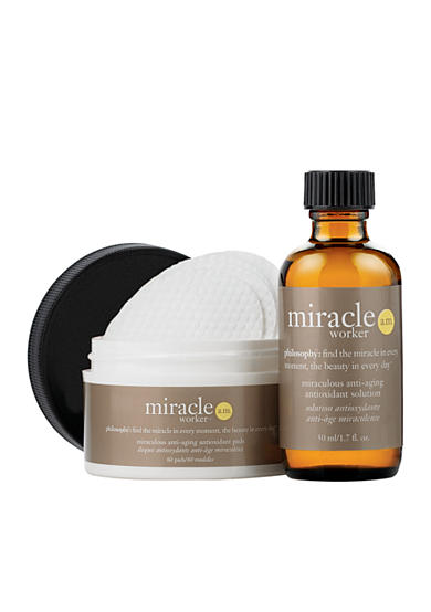 philosophy miracle worker a.m. anti-aging antioxidant pads