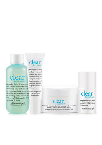 philosophy clear days ahead acne trial kit