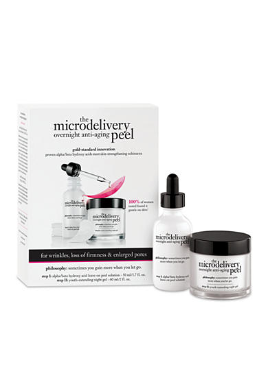 philosophy microdelivery overnight peel kit