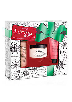 philosophy christmas fruitcake 3pc gift set